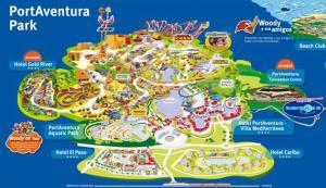 Mapa Portaventura
